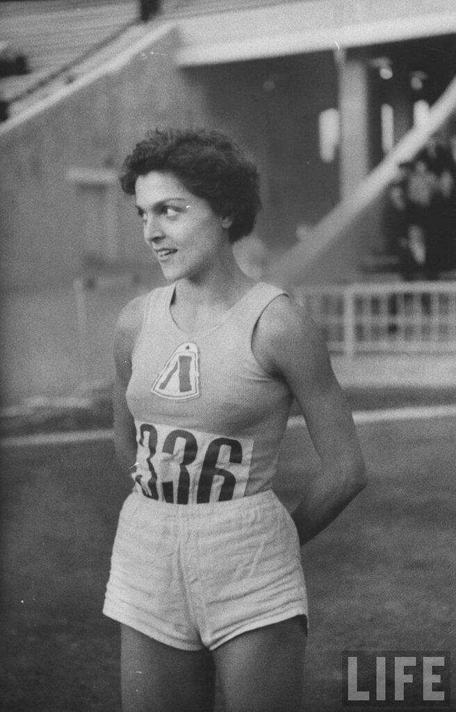 Спортсменка Галина Виноградова
