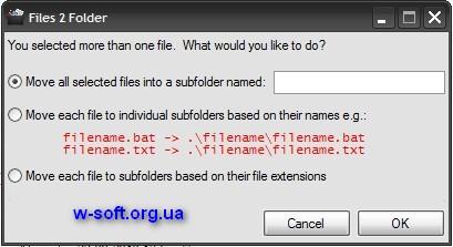 Files 2 Folder