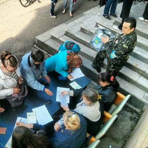 референдум в Донбассе