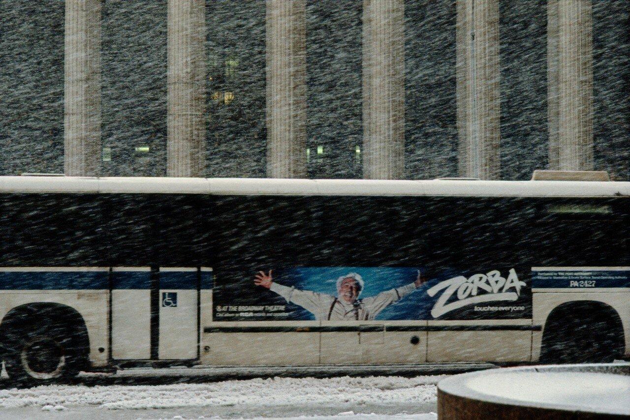 1984. Автобус в снежной буре