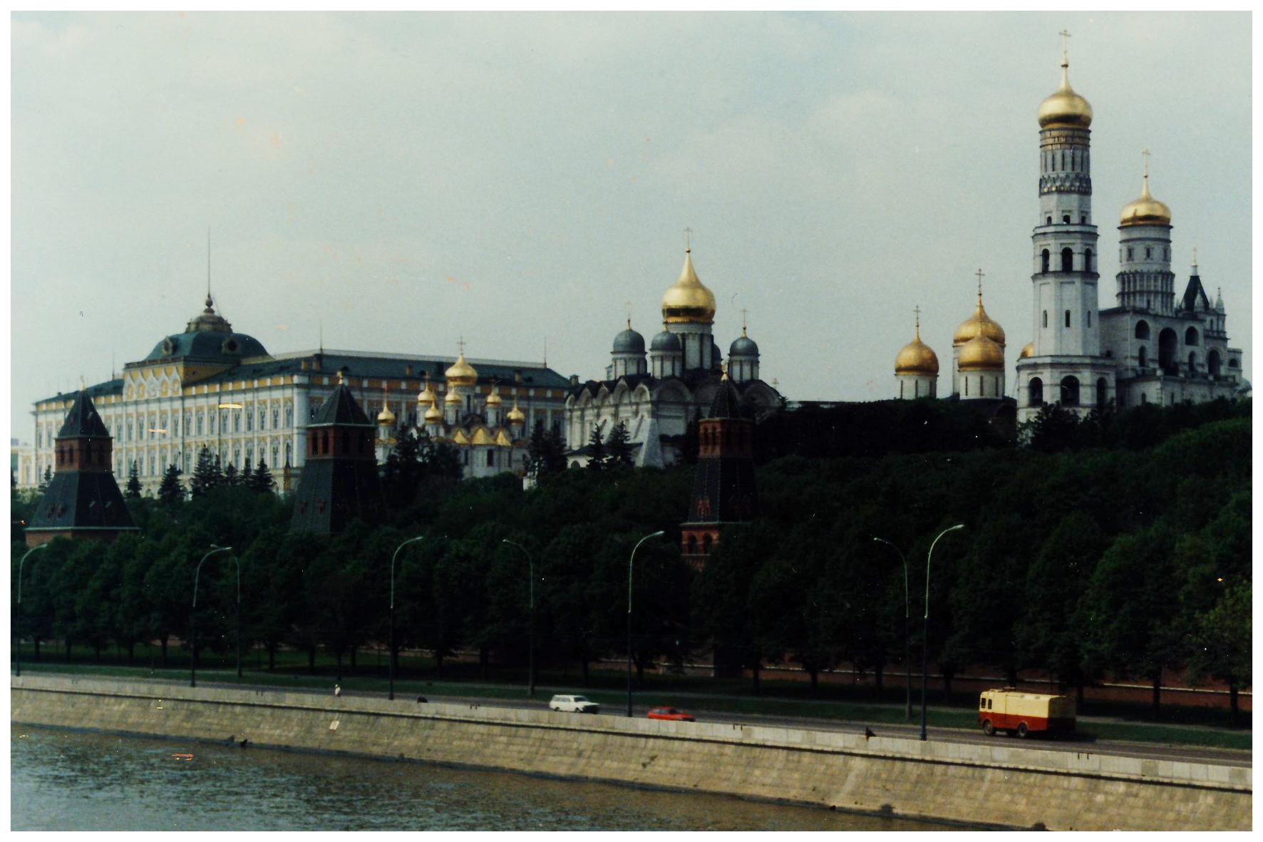 Москва. Кремль. Июнь