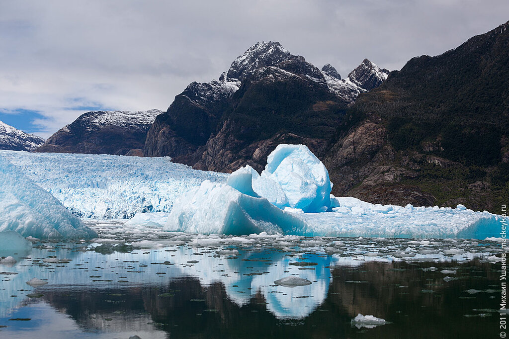 Патагония, ледник Сан-Рафаэль