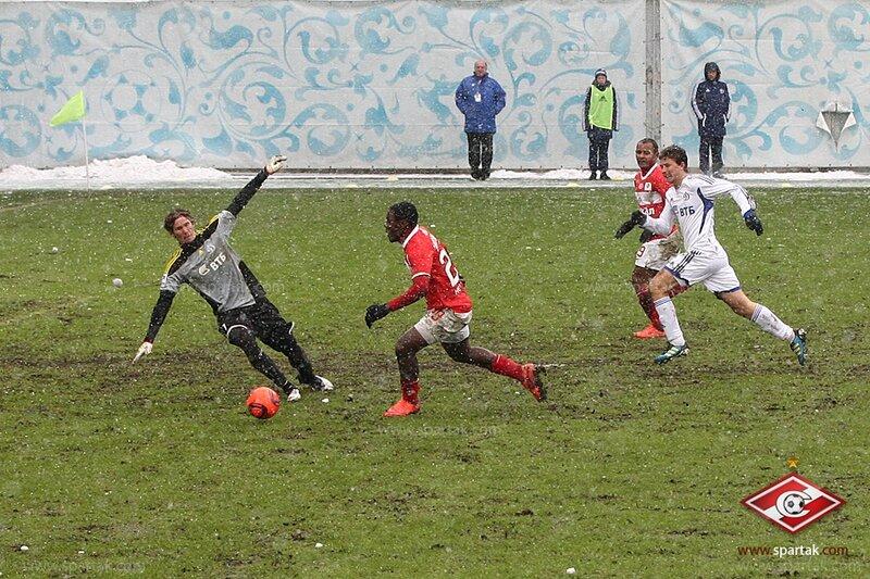 «Динамо» vs «Спартак» 1:3 Премьер-лига 2011-2012 (Фото)