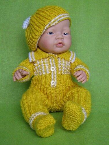Схемы Вязание Одежды Для Кукол