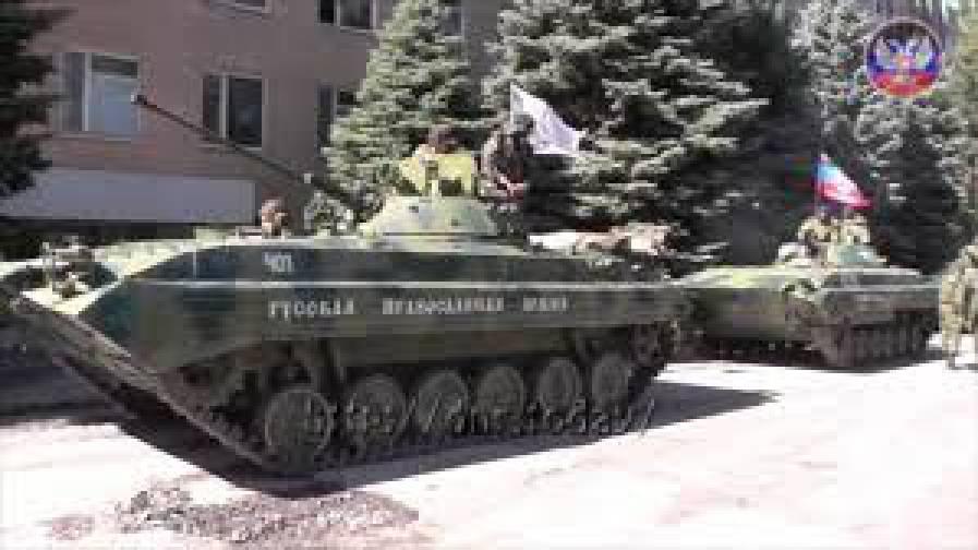 Боевики продолжают стягивать танки и САУ. В районе Новомихайловки и Победы фиксировались огневые налеты врага по позициям сил АТО, - ИС