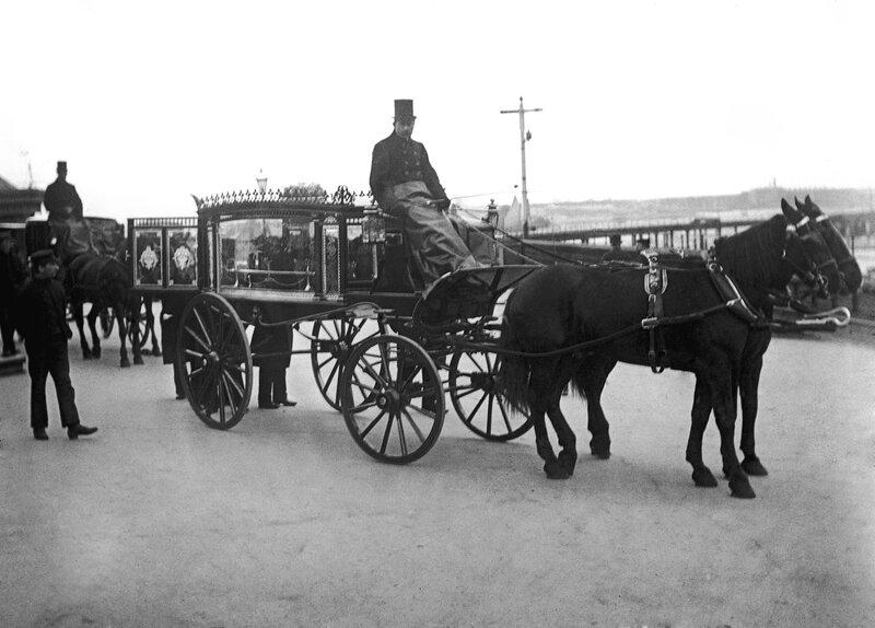 Horsedrawn Hearse