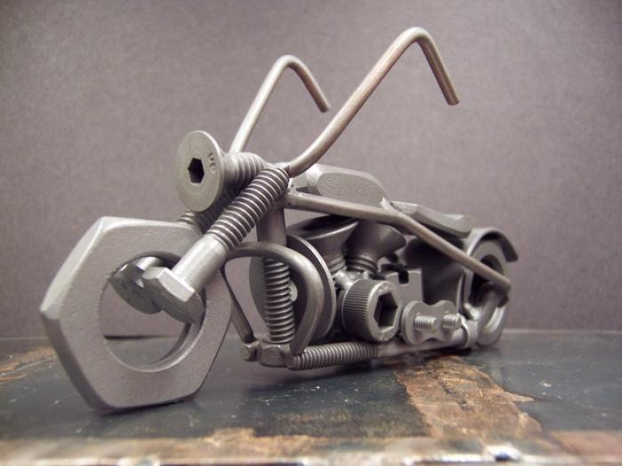 Фото поделки из металла и сварки