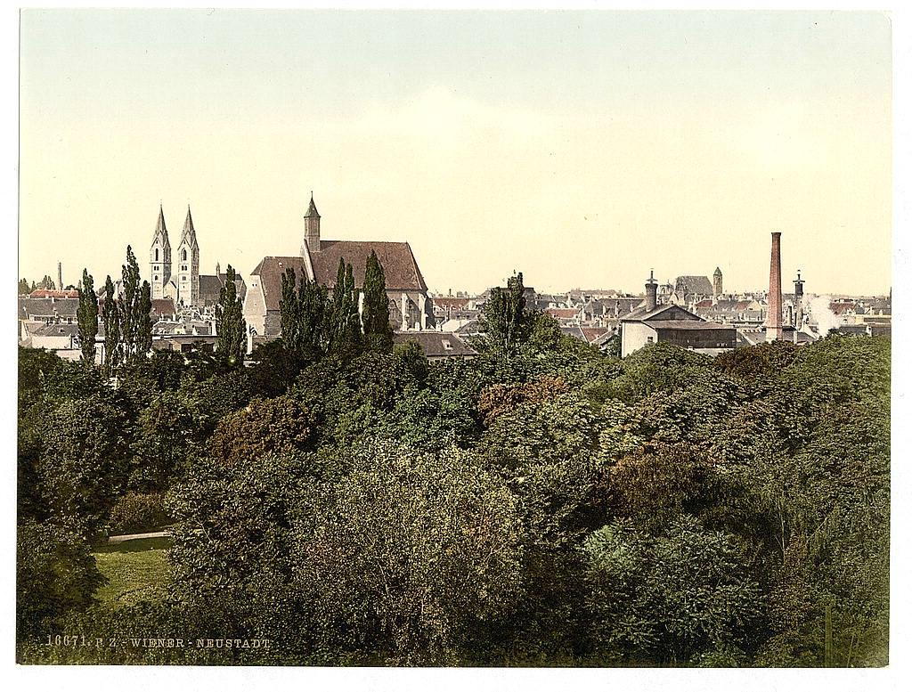 Вена в 1890 - 1900 годах. 0_6037d_965c15e7_orig