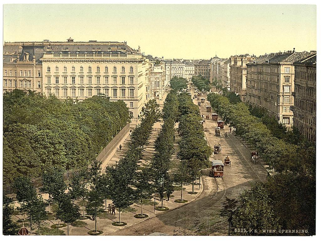 Вена в 1890 - 1900 годах. 0_60387_879b294c_orig