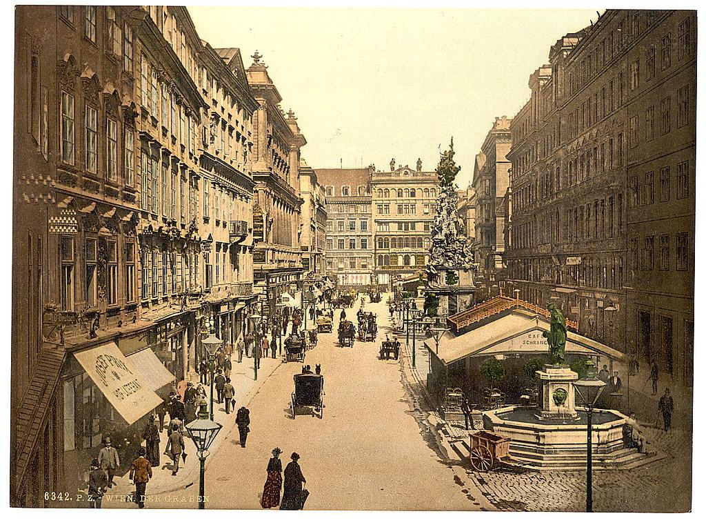 Вена в 1890 - 1900 годах. 0_6038a_c65a720f_orig