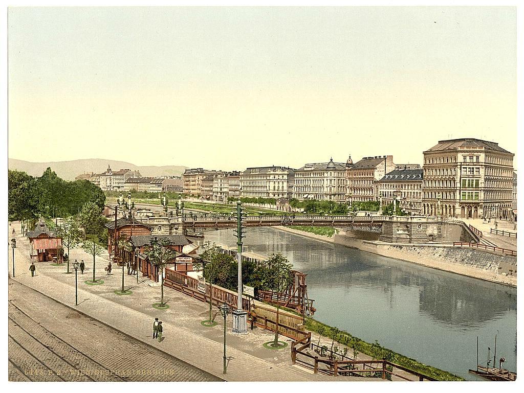 Вена в 1890 - 1900 годах. 0_6038e_4b941cce_orig