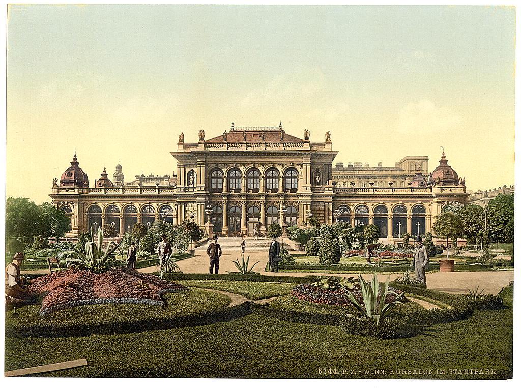 Вена в 1890 - 1900 годах. 0_60390_4274d835_orig