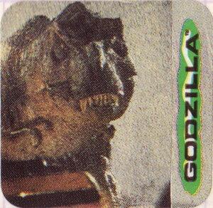 Вкладыши от жевательной резинки - Godzilla