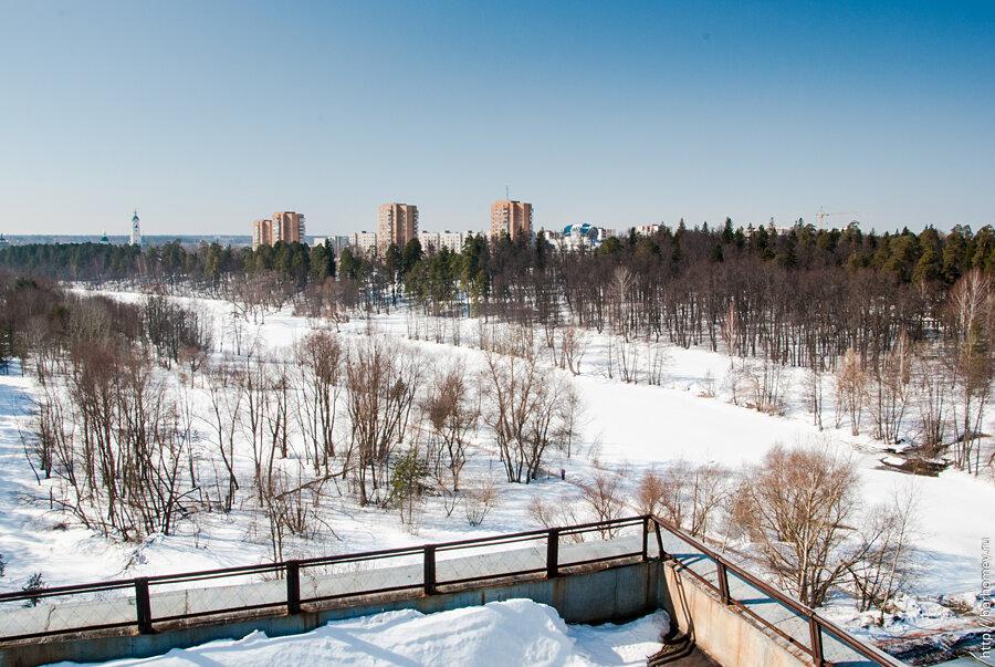 река Сатис зимой