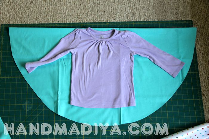 How to sew a poncho yourself
