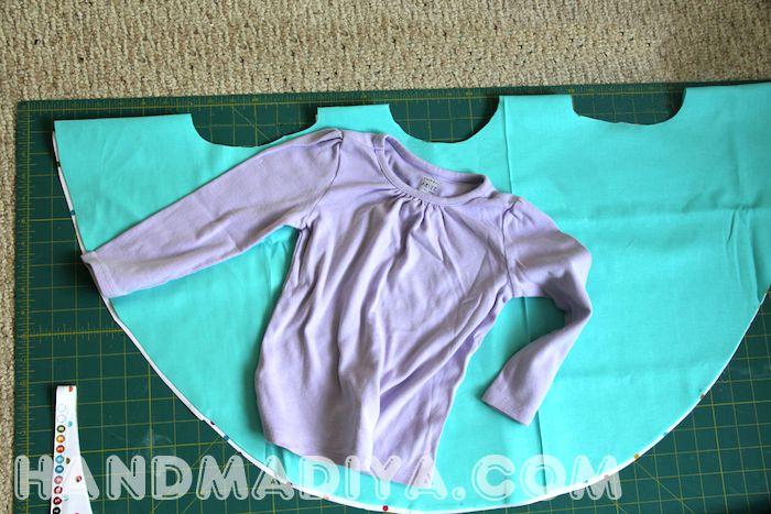 Шьем красивый дождевик быстро и просто.  How to sew a poncho yourself