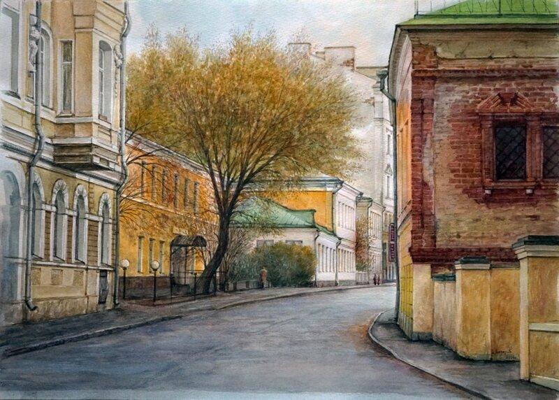 Иван Назаров. Армянский переулок. Москва. 2014