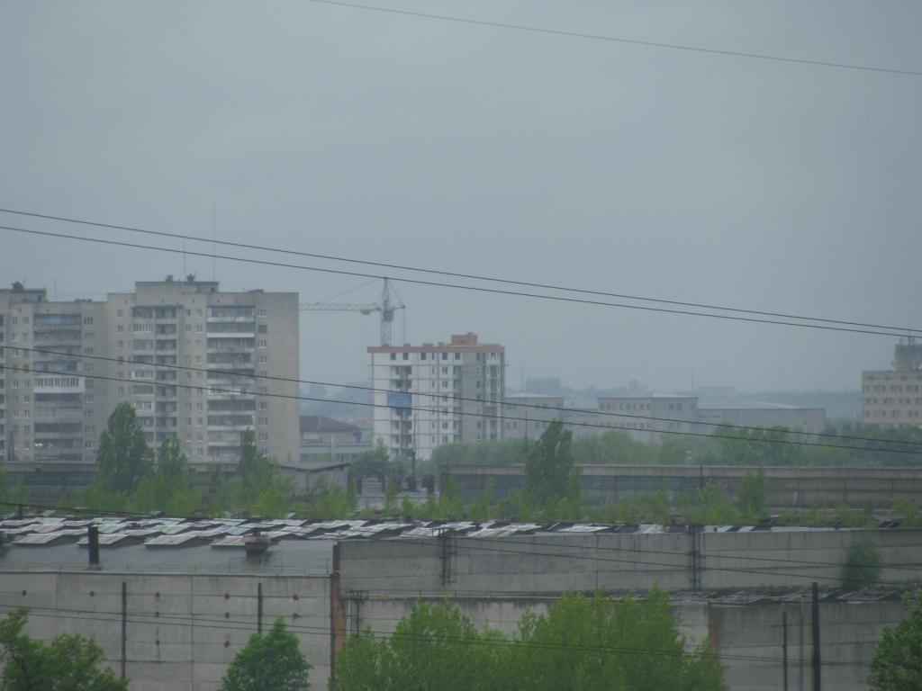 Перехрестя Стрийська-Наукова і ЖК Юевелірний - вигляд з Тернопільської 21