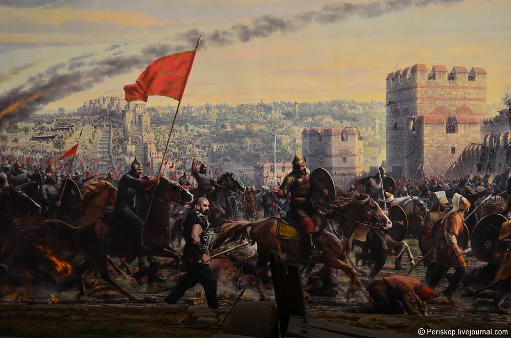 Панорама-1453. Последний штурм Константинополя