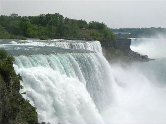 Канада. Ниагарский водопад.