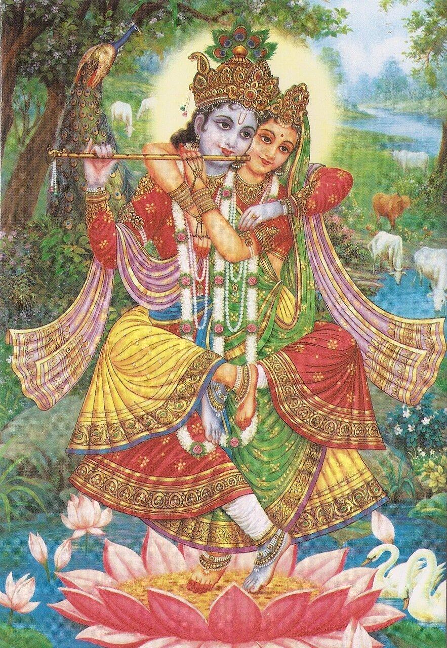 Шри Шри радха-Шьямасундар