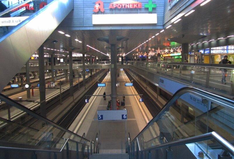 Берлин. Вокзал