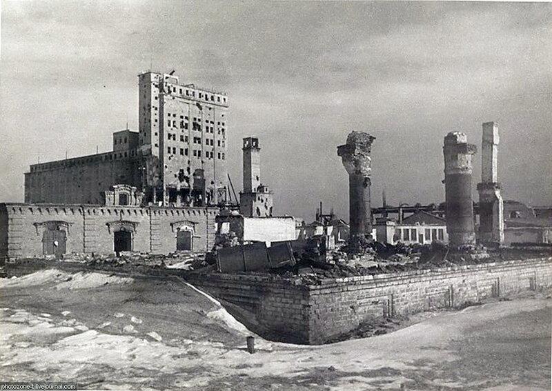 Сталинград. Февраль - март 1943 года.