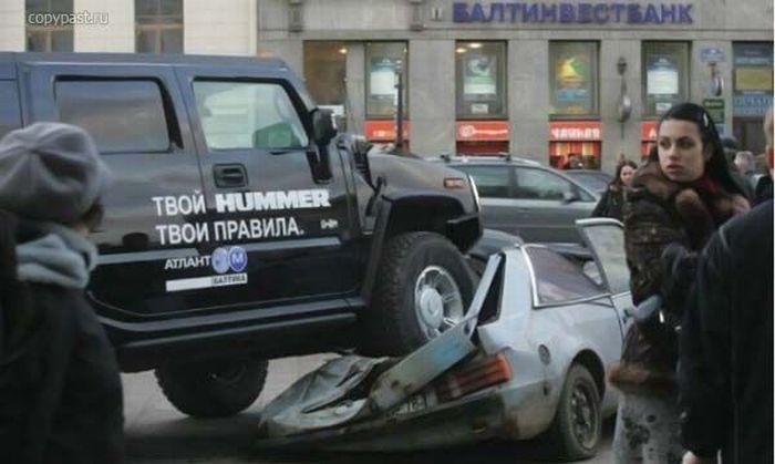 0 70278 98efa363 orig 60 самых нелепых автомобильных происшествий