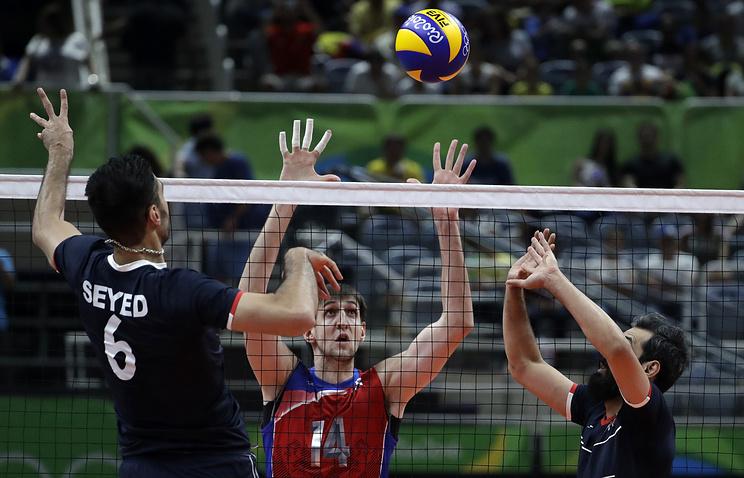 Волейболисты сборной Российской Федерации в ¼ финалаОИ сыграют скомандой Канады