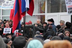 Митинг оппозиции в Самаре. Декабрь 2011