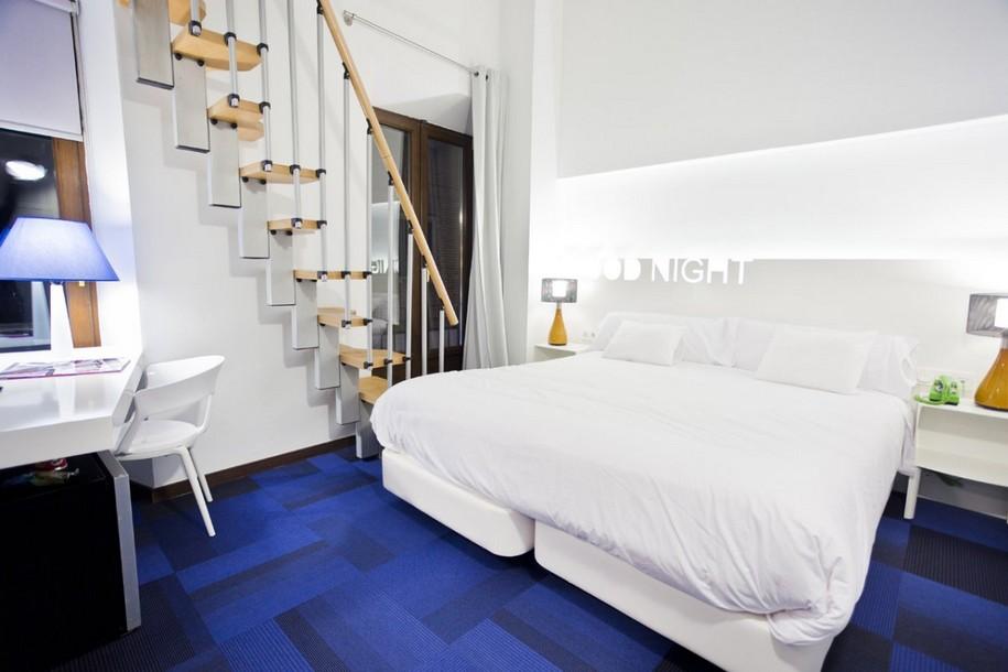 Интерьер отеля Portago Urban в Испании от ILMIODESIGN