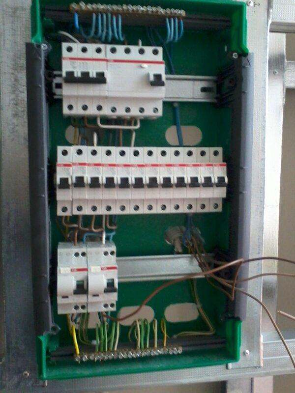 схема электропроводки в щитке