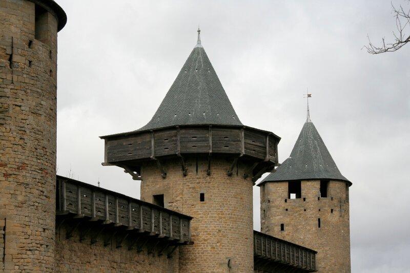 Графский замок в Каркасоне
