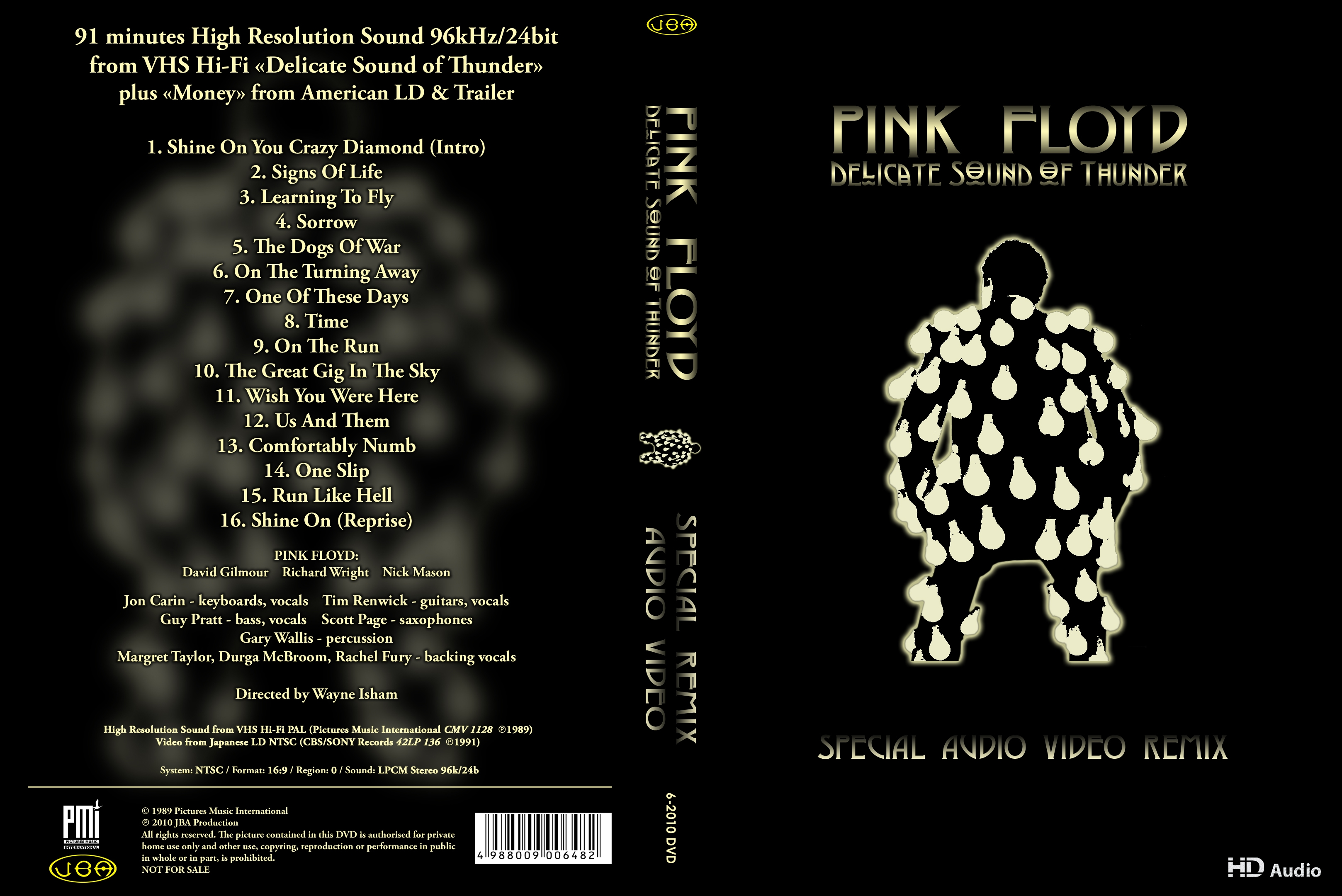 Pink floyd one slip video