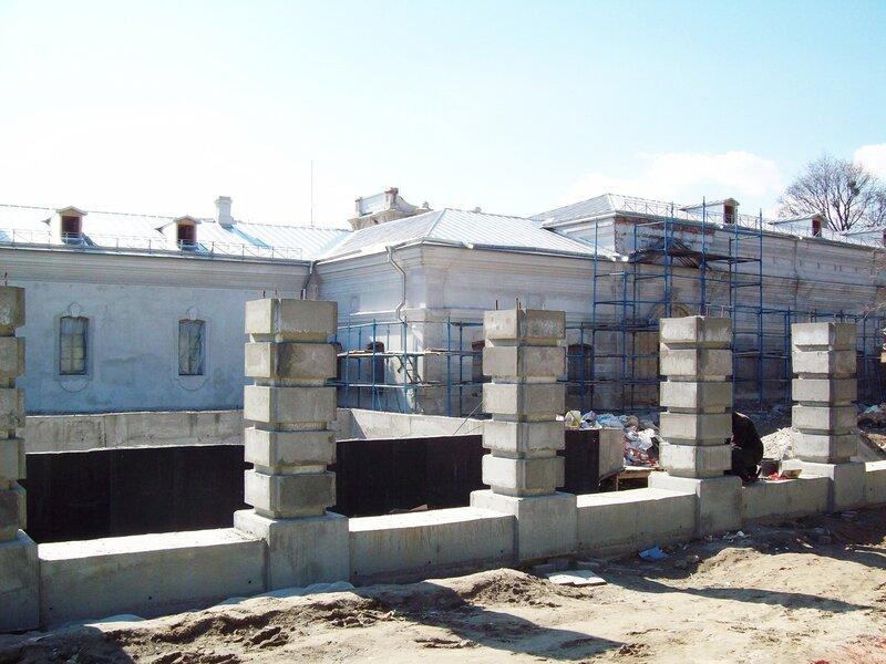 Реконструкция Мариинского дворца