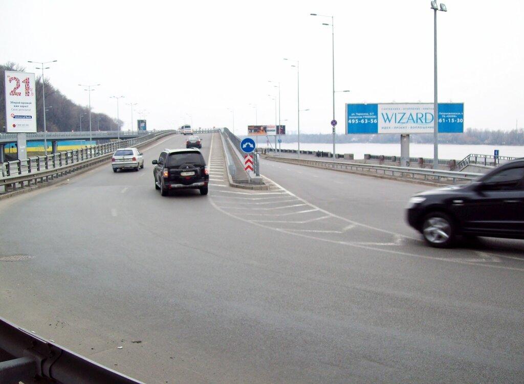 Новая развязка возле моста метро