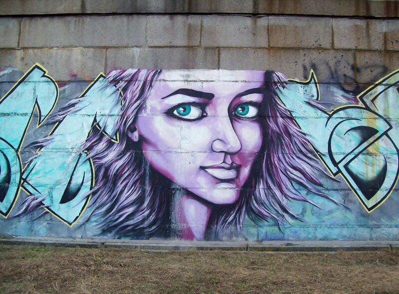 Граффити Ироничный взгляд