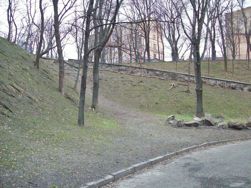 Дорога Владимирской горки