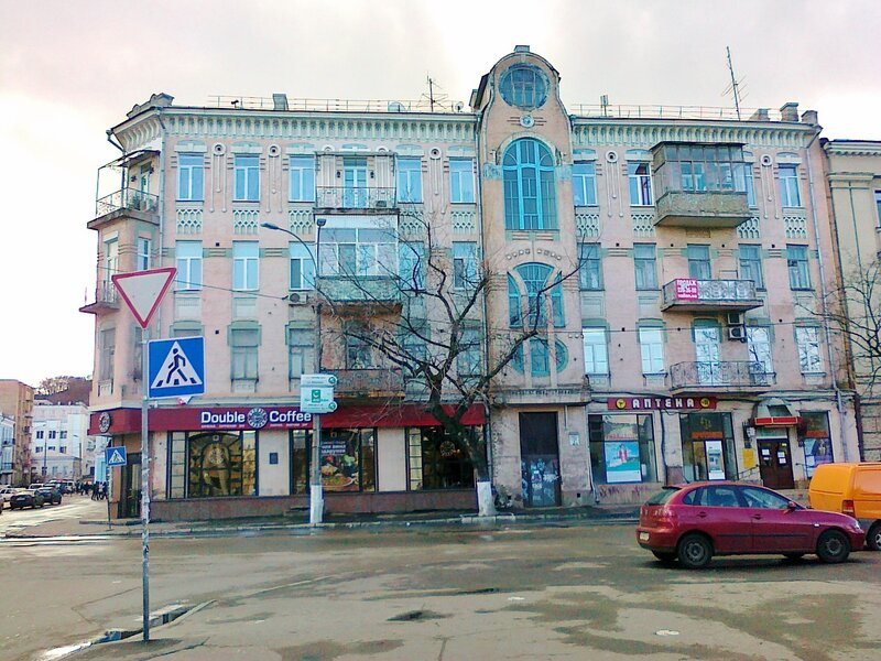 Дом на Контрактовой площади