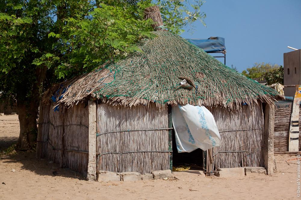 Сенегал, деревни возле озера Ретба