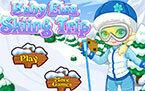 Малышка Эльза Холодное Сердце Лыжница