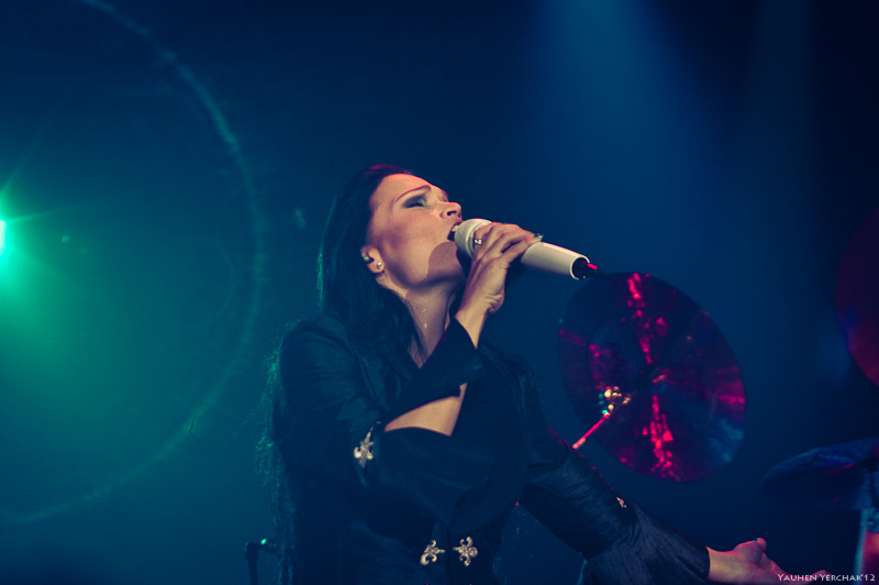 Tarja Turunen, What Lies Beneath World Tour, photo, Тарья Турунен в Минске, фото