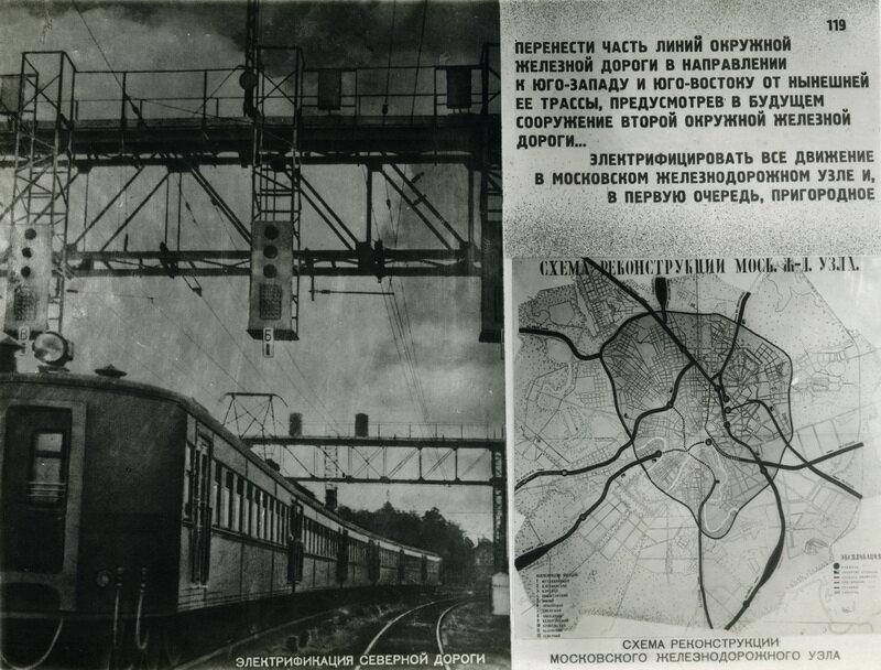 Поручить НКПС разработать в соответствии с этим план реконструктивных работ по Московскому железнодорожному узлу.