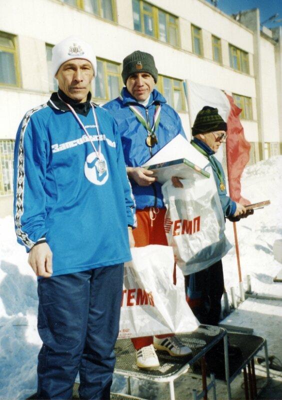 2003г. Челябинск. Первенство среди ветеранов . Ахмадуллин , Шварцман и Валеев