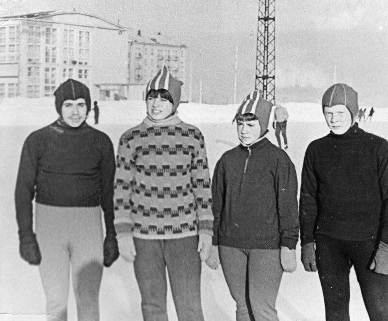 1969г. Шварцман Ю.,Березина О.,Хаустова О.,Хохолков В.
