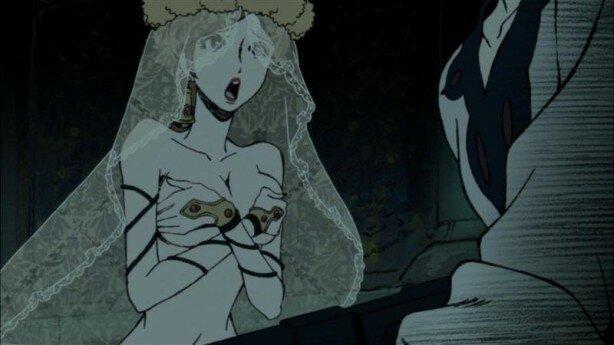 Lupin III - Mine Fujiko to Iu Onna ,Люпен Третий: женщина по имени Фуджико Минэ, аниме 2012, аниме-сериал весны 2012, Люпен Третий, Такэши Коикэ,Redline, Afro Samurai