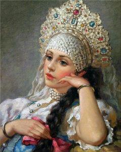 Русские красавицы Владислава Нагорного