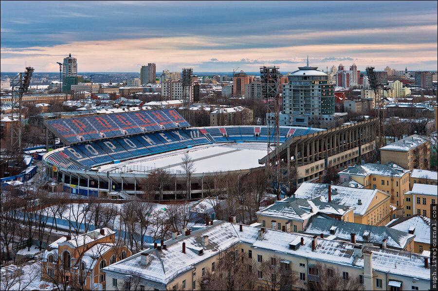 Стадион Труд, Воронеж