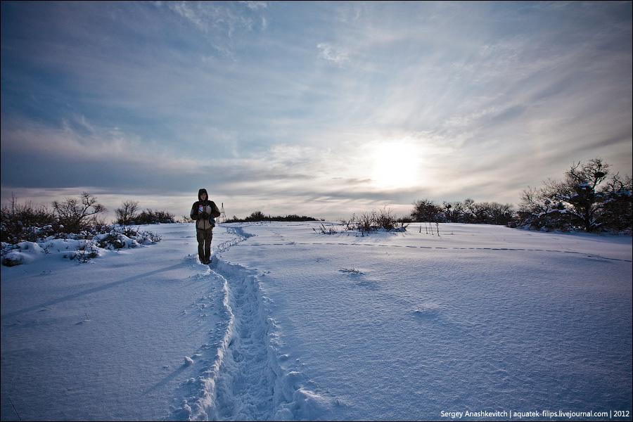 8 марта в снегах