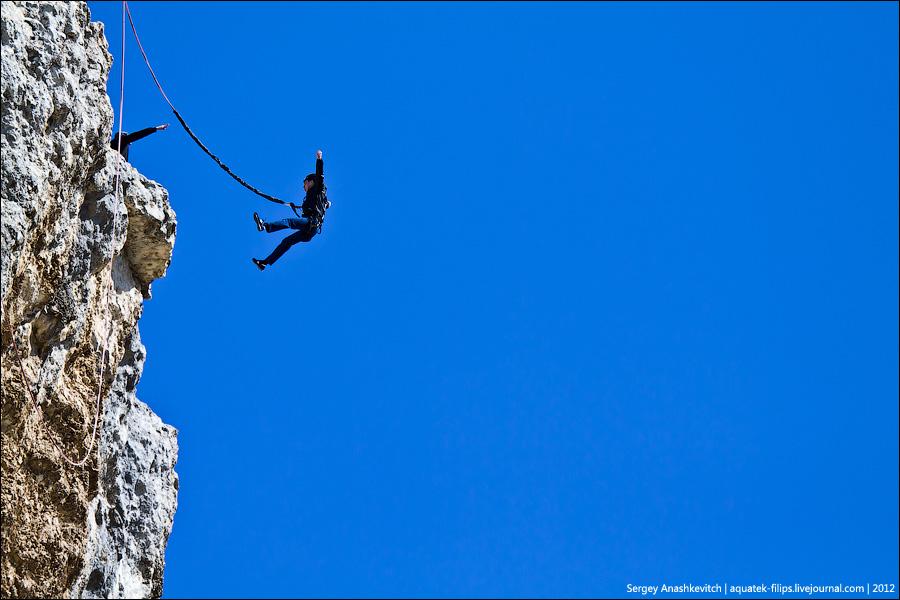 Прыжки с Качи-Кальона